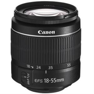 Canon EF-S 18-55mm f/3.5-5.6 III Camera Lens